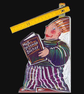 Buchstütze Maßgebende Bücher