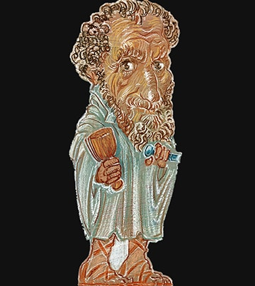 Buchstütze Michelangelo